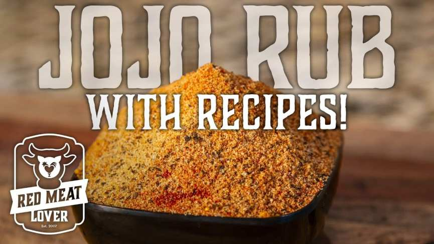 Chicken and Pork Seasoning JoJo Rub