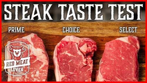 Steak Taste Test Experiment