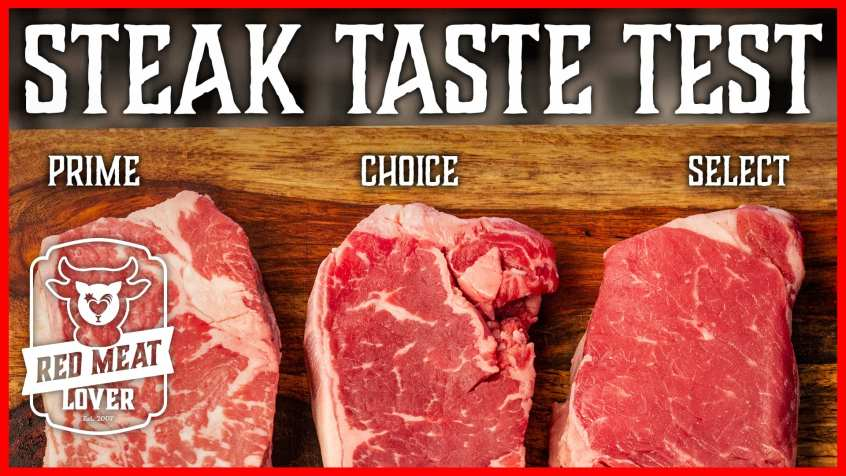 Steak Taste Test Experiment