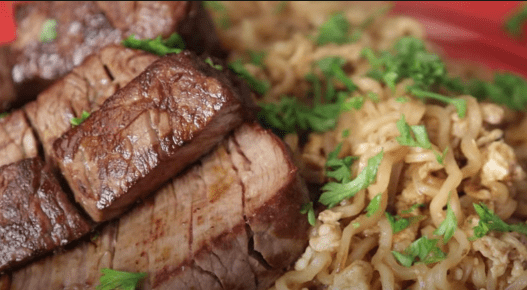 steak and ramen