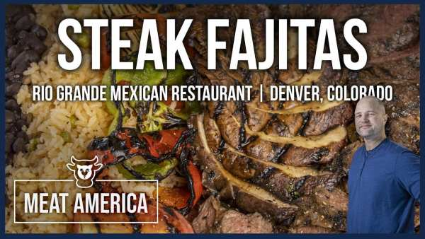 Meat America Steak Fajitas