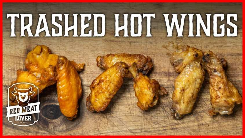 trashed hot wings