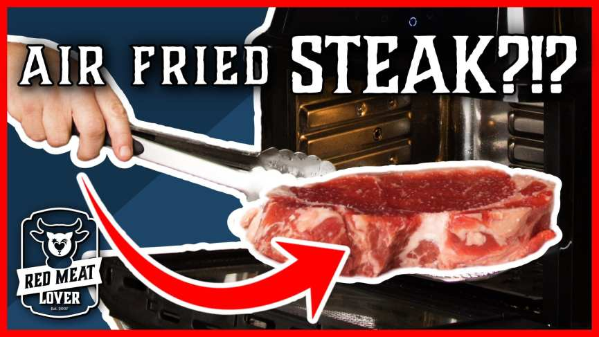 air fried steak