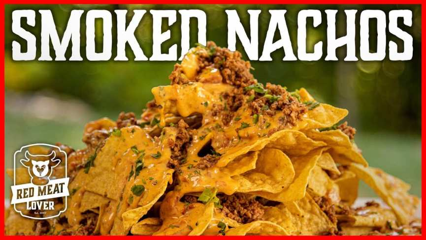smoked nachos