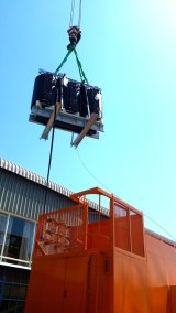 Cast Resin Transformer Mobile Mini Substation Offloading