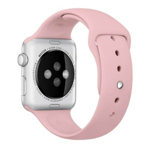 curae silicon rose apple watch