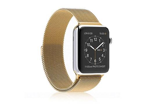 bratara apple watch 42 mm gold auriu