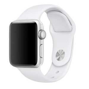 bratara silicon apple watch alba