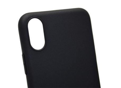 husa neagra iphone xs