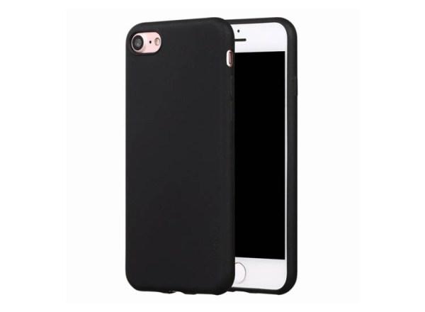 husa silicon negru iphone 7 8
