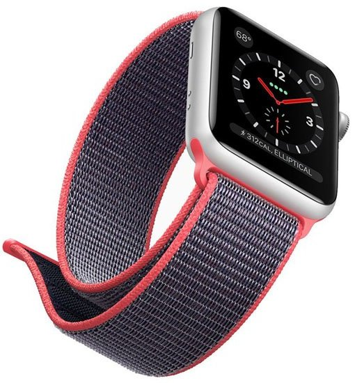 curea material textil apple watch 4
