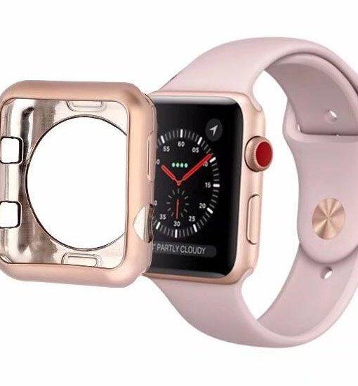 carcasa protectie din silicon apple watch