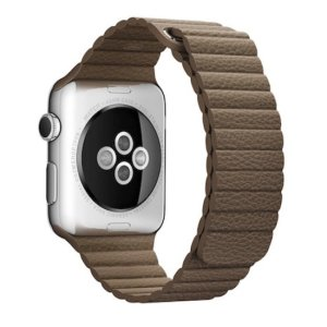 curea cu zale late apple watch maro
