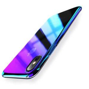 husa plastic transparent apple iphone xs