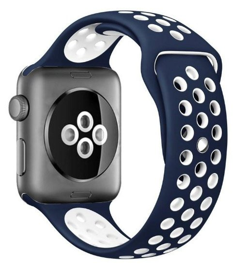 curea sport apple watch albastra