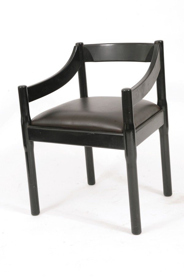 8 Dining Chairs By Vico Magistretti For Cassina Red Modern Furniture