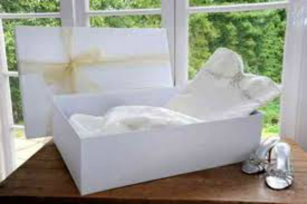 Wedding Dress Cleaning & Storage Boxes