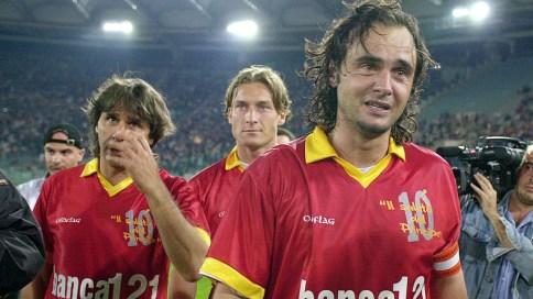 Giannini, kapten sebelum Totti