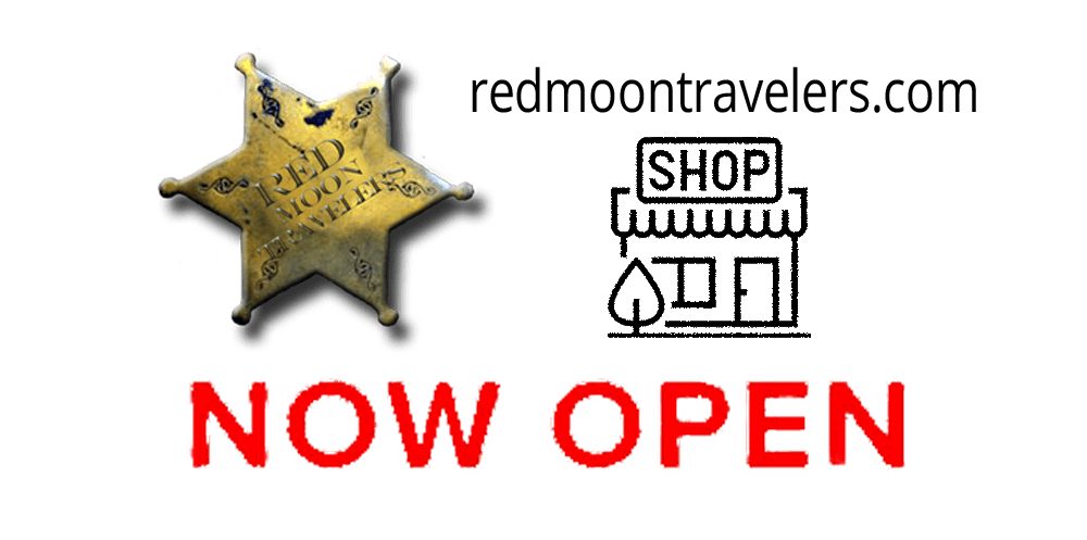 red moon travelers, store, shop, buy now,