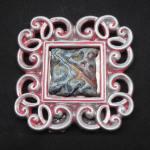 mini raky pink frame $10