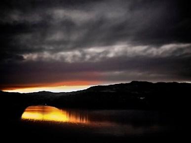 Horsetooth Reservoir Sunset