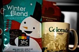 Friendly Coffee Snowman!