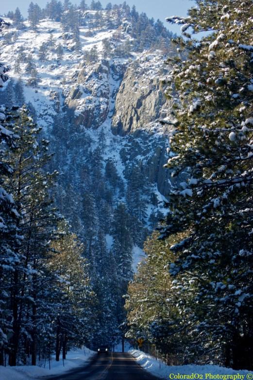 """Cache La Poudre National Scenic Byway"""