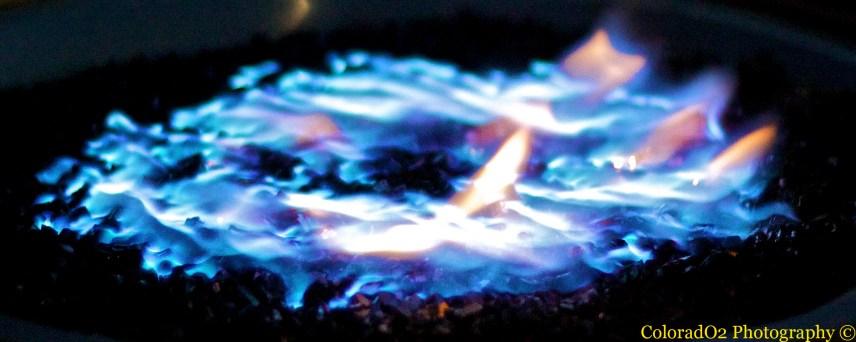 Cool night, warm fire!