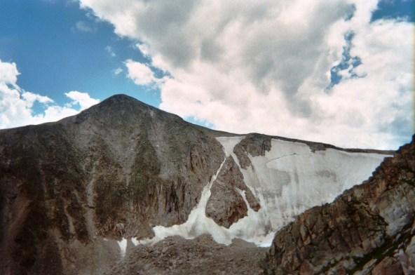 Hallot Peak, highest summit of day: 12,091 ft!