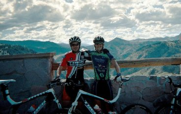 Top of Mountain in Golden, Colorado with Kelly Magelky!