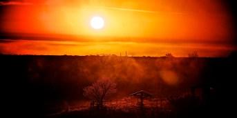 Foggy Friday Morning Sunrise