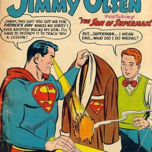 #ComicsOutofContext – Superman's a bad dad!