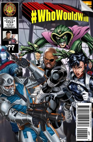 #WhoWouldWin: S.H.I.E.L.D. vs Cobra.