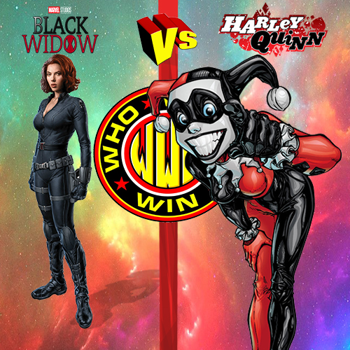#WhoWouldWin: Harley Quinn vs Black Widow