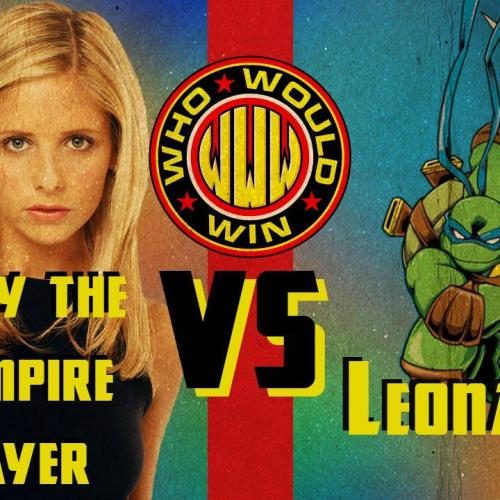 #WhoWouldWin Buffy vs Teenage Mutant Ninja Turtle