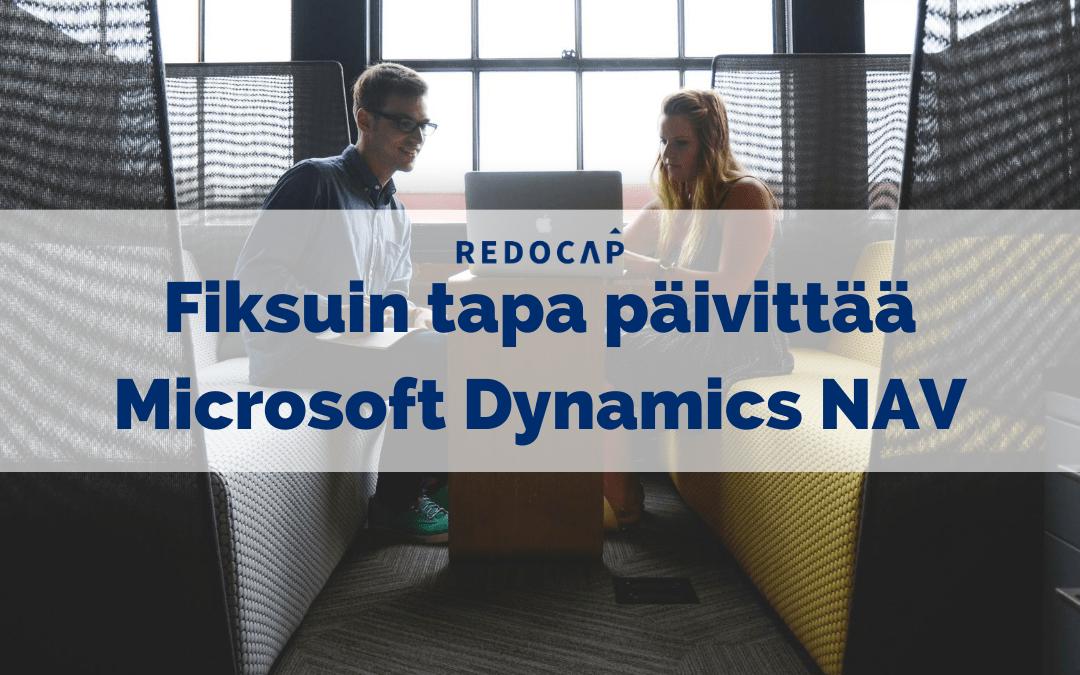Fiksuin tapa päivittää Microsoft Dynamics NAV