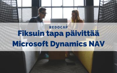 Redoflow-päivityspaketti on fiksuin tapa päivittää Microsoft Dynamics NAV