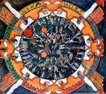 Płaskorzeżba z Dendra w Egipcie: obrotowe niebo