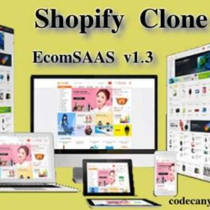 shopify clone - bigcommerce clone - volusion clone