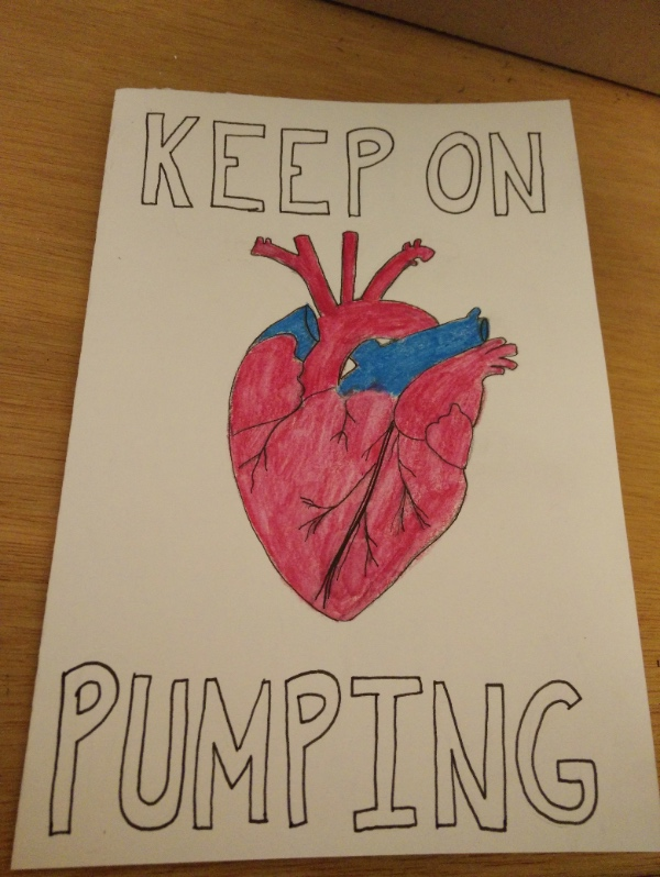 Keep on pumping