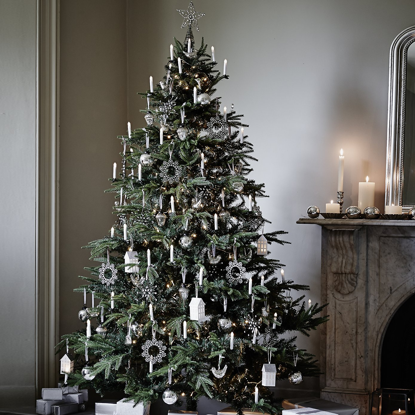 How To Decorate Your Christmas Tree Interiors. The White Company ... Part 75