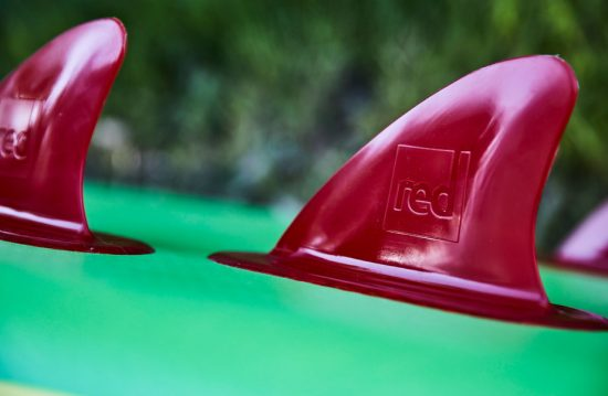 embosses 'Red' logo paddle board fin