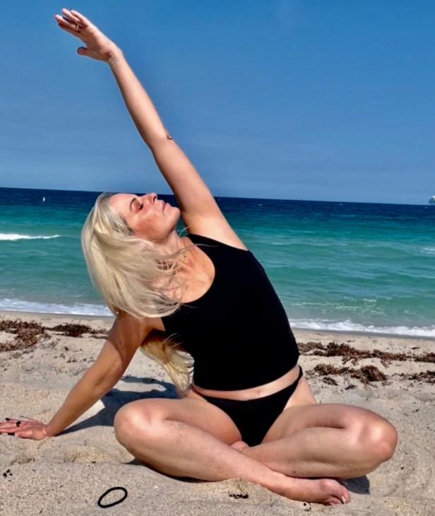 laura goldman red pearl yoga fort lauderdale wilton manors