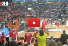 Photo of Tο καλάθι του Πρίντεζη μέσα από το γήπεδο (video)