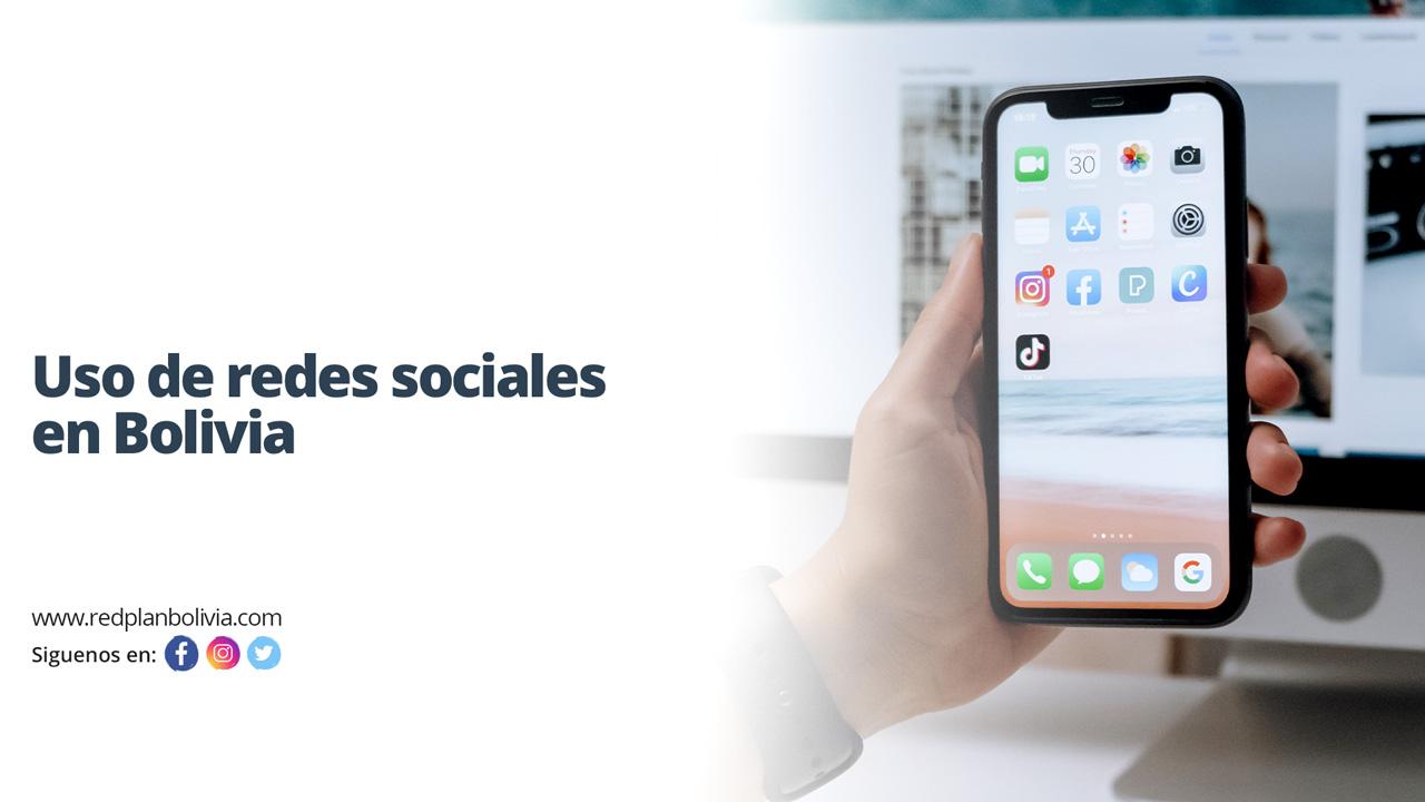 Se dispara el uso de redes sociales en Bolivia