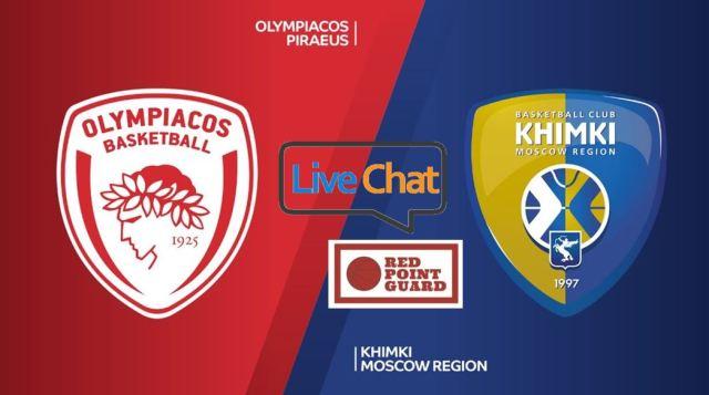 RPG Live – Olympiacos vs Khimki Moscow Region