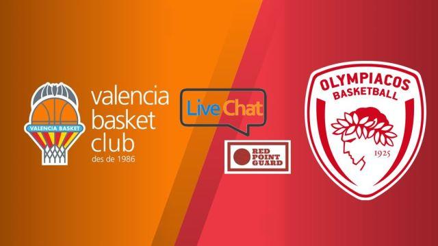 RPG Live: Valencia Basket vs Olympiacos