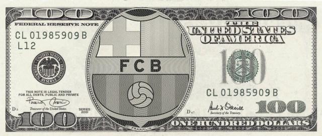 Το χρώμα του blaugrana χρήματος