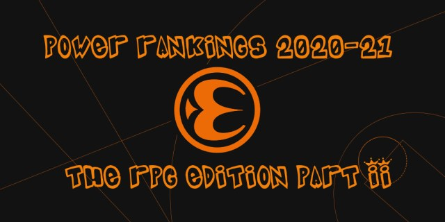 Euroleague Power Rankings – RPG EDITION (part II)