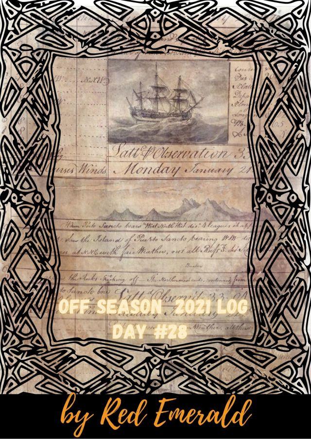 Off Season 2021 – ημέρα 28η
